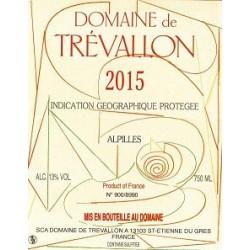Domaine de Trévallon rouge 2015 etiquette