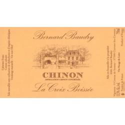 Domaine Bernard Baudry Chinon La Croix Boissee rouge 2015 etiquette