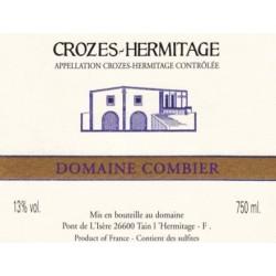 """Domaine Combier Crozes-Hermitage """"Domaine"""" blanc sec 2017 etiquette"""