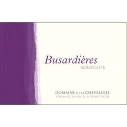 Domaine de La Chevalerie Bourgueil Busardieres rouge 2015 etiquette