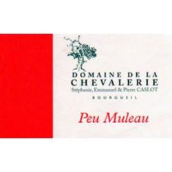 """Domaine de La Chevalerie Bourgueil """"Peu Muleau"""" red 2015"""