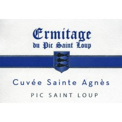 """Ermitage du Pic Saint-Loup """"Sainte Agnes"""" red 2016"""