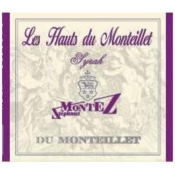 """Domaine du Monteiller (Stephane Montez) """"Les Hauts du Monteillet"""" rouge 2016 etiquette"""