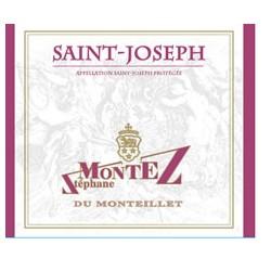 Domaine du Monteillet (Stéphane Montez) Saint-Joseph rouge 2016 etiquette
