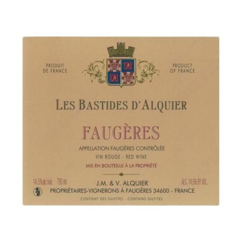 """Domaine Jean-Michel Alquier Faugeres """"Les Bastides"""" rouge 2010"""
