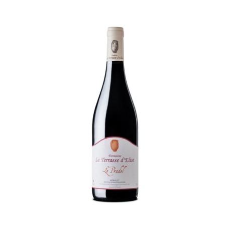 """Domaine La Terrasse d'Elise """"Le Pradel"""" 2016 bouteille"""