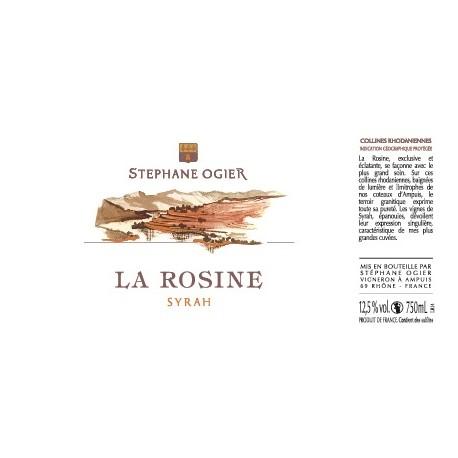 """Domaine Stephane Ogier """"La Rosine"""" (syrah) red 2016"""