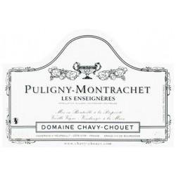 Chavy-chouet Puligny Montrachet Les Enseignères 2016 etiquette