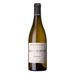 """Domaine Arnaud Lambert Saumur """"Coulée de St-Cyr"""" blanc sec 2014 bouteille"""
