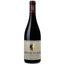 Chateau Maucoil Cotes du Rhone Villages rouge 2015 bouteille