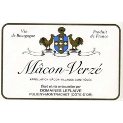 Domaine Leflaive Macon-Verze dry white 2016