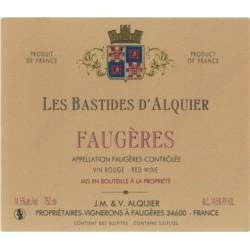 Domaine Jean Michel Alquier Les Bastides 2016 etiquette