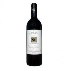 Domaine d'Aupilhac Languedoc Montpeyroux rouge 2015 bouteille