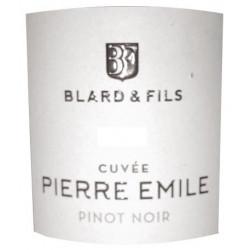 """Domaine Blard Savoie """"Pierre Emile"""" (pinot noir) rouge 2016 etiquette"""