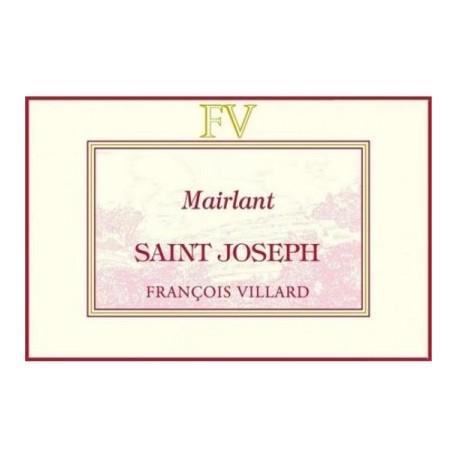 Domaine Francois Villard Saint Joseph Mairlant rouge 2016 etiquette