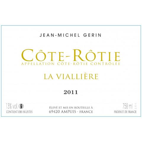 Jean Michel Gerin Cote Rotie La Vialliere 2011