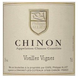 "Domaine Philippe Alliet Chinon ""Vieilles Vignes"" red 2016"