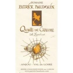 """Domaine Patrick Baudouin Quarts de Chaume """"Les Zersilles"""" blanc liquoreux 2013 etiquette"""
