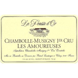 Domaine de la Pousse d'Or Chambolle-Musigny 1er cru Les Amoureuses 2016 etiquette