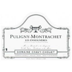 "Domaine Chavy-Chouet Puligny-Montrachet ""Les Enseigneres"" dry white 2017"