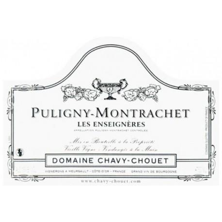 "Domaine Chavy-Chouet Puligny-Montrachet ""Les Enseigneres"" dry white 2017"