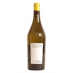 "Domaine Tissot Arbois Savagnin ""Traminer"" blanc sec 2016 bouteille"