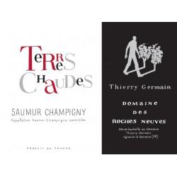 Domaine des Roches Neuves Saumur Champigny Terres Chaudes 2017 etiquette
