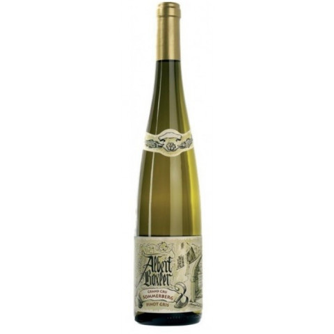 "Domaine Albert Boxler Pinot Gris Grand Cru Sommerberg ""W"" medium dry white 2017"