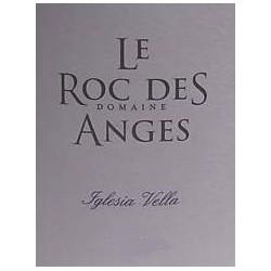 """Le Roc des Anges """"Iglesia Vella"""" blanc sec 2016 etiquette"""
