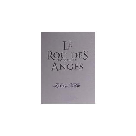 """Le Roc des Anges """"Iglesia Vella"""" blanc sec 2017 etiquette"""