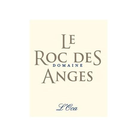 """Le Roc des Anges """"L'Oca"""" blanc sec 2017 etiquette"""