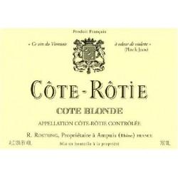 Rostaing cote rotie Cote Blonde 2016 etiquette