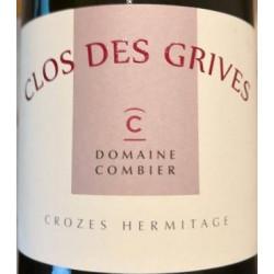 """Domaine Combier Crozes-Hermitage """"Clos des Grives"""" rouge 2016"""