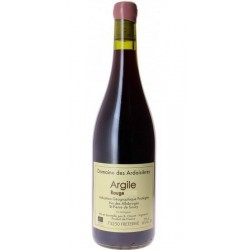 """Domaine des Ardoisieres """"Argile"""" rouge 2017 bouteille"""