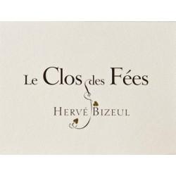 """Clos des Fées Côtes du Roussillon Villages """"Le Clos"""" rouge 2015 etiquette"""