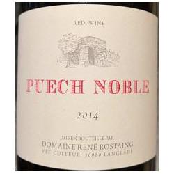 Rostaing Puech Noble 2014 etiquette