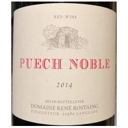 Rene Rostaing : Domaine Puech Noble Languedoc red 2014