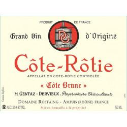"""Domaine Rostaing Côte-Rôtie """"Côte Brune"""" rouge 2013 magnum"""