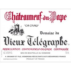 Domaine du Vieux Télégraphe Châteauneuf-du-Pape rouge 2010 MAGNUM etiquette