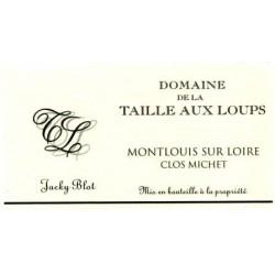 """Domaine de la Taille aux Loups Montlouis-sur-Loire """"Clos Michet"""" 2017 etiquette"""