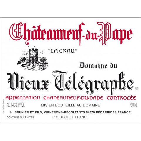 Domaine du Vieux Telegraphe Chateauneuf-du-Pape rouge 2011 etiquette