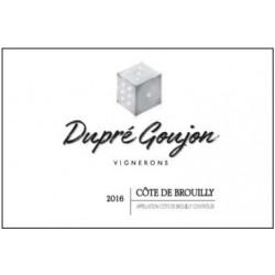 """Domaine Dupré-Goujon Côte de Brouilly """"6-3-1"""" rouge 2016 etiquette"""