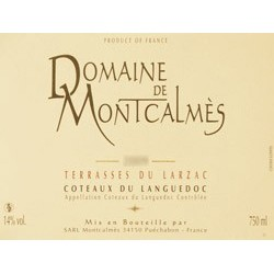 Domaine de Montcalmes red 2016 MAGNUM