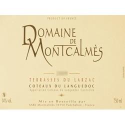 Domaine de Montcalmès rouge 2016 etiquette