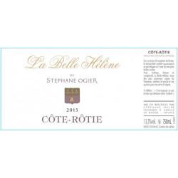Cote Rotie Stephane Ogier La Belle Helene 2015 etiquette