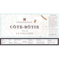 Cote Rotie Stephane Ogier La Vialliere 2015 etiquette