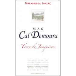 "Mas Cal Demoura ""Terre de Jonquieres"" rouge 2017 etiquette"
