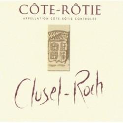 """Domaine Clusel-Roch Côte-Rôtie """"Classique"""" rouge 2009 etiquette"""