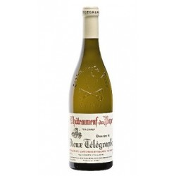 Domaine du Vieux Telegraphe Chateauneuf-du-Pape blanc 2017 bouteille