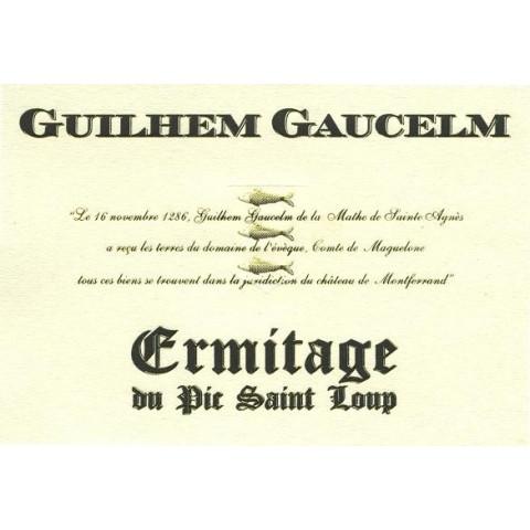 """Ermitage du Pic Saint-Loup """"Guilhem Gaucelm"""" 2016 etiquette"""